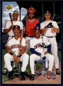 1993 Upper Deck #45 Albert Belle/Sandy Alomar Jr./Jim Thome/Carlos Baerga/Kenny Lofton NM-MT