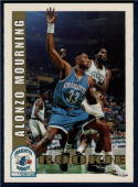 1992-93 Hoops #361 Alonzo Mourning NM-MT RC Rookie