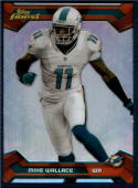 2013 Topps Finest Refractor #53 Mike Wallace NM-MT