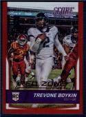 2016 Score Rookies Jumbo Red Zone #343 Trevone Boykin NM-MT RC Rookie 30/35