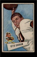 1952 Bowman Large #2 Otto Graham VG Very Good