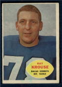 1960 Topps #40 Ray Krouse EX Excellent
