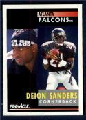 1991 Pinnacle #147 Deion Sanders NM-MT