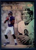 2018 Panini Illusions #25 Lamar Jackson/Trent Dilfer NM-MT Baltimore Ravens