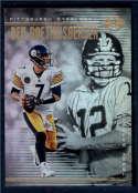 2018 Panini Illusions #76 Ben Roethlisberger/Terry Bradshaw NM-MT Pittsburgh Steelers