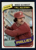 1980 Topps #270 Mike Schmidt DP NM-MT Philadelphia Phillies