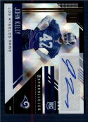 2018 Panini Unparalleled Rookie Signatures #219 John Kelly NM-MT Auto Los Angeles Rams