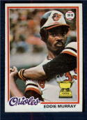 1978 Topps #36 Eddie Murray NM+++ RC Rookie Baltimore Orioles