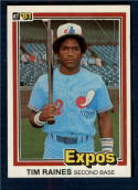 1981 Donruss #538 Tim Raines NM-MT RC Rookie Montreal Expos