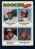 1977 Topps #473 Andre Dawson/Gene Richards/John Scott/Denny Walling Rookie Outfielders EX++ Excellent++ RC Rookie Montreal Expos/San Diego Padres/Toro