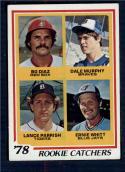 1978 Topps #708 Bo Diaz/Dale Murphy/Lance Parrish/Ernie Whitt Rookie Catchers EX/NM RC Rookie Boston Red Sox/Atlanta Braves/Detroit Tigers/Toronto Blu