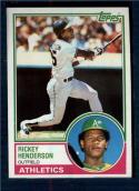 1983 Topps #180 Rickey Henderson NM-MT Oakland Athletics