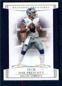 2018 Panini National Treasures Gold #24 Dak Prescott NM-MT 29/35 Dallas Cowboys