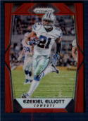2017 Panini Prizm Prizm Red #12 Ezekiel Elliott NM-MT Dallas Cowboys