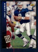 1993 Upper Deck Future Heroes #40 Troy Aikman NM-MT Dallas Cowboys
