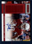 2013 Panini Rookies and Stars Rookie Material Signatures #233 Stepfan Taylor NM-MT RC Rookie MEM Auto 215/299 Arizona Cardinals