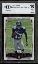 2014 Topps #355 Odell Beckham Jr. BCCG 10 Mint or Better RC Rookie New York Giants