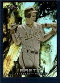 2018 Topps Fire Gold Minted #176 George Brett NM-MT Kansas City Royals
