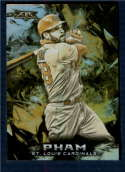 2018 Topps Fire Gold Minted #185 Tommy Pham NM-MT St. Louis Cardinals