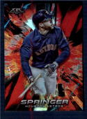 2018 Topps Fire Flame #88 George Springer NM-MT Houston Astros