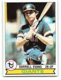 1979 Topps #410 Darrell Evans NM-MT 50/50! San Francisco Giants Baseball