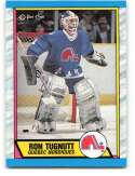 1989-90 O-Pee-Chee #263 Ron Tugnutt NM-MT RC Rookie Quebec Nordiques Quebec Nordiques Hockey